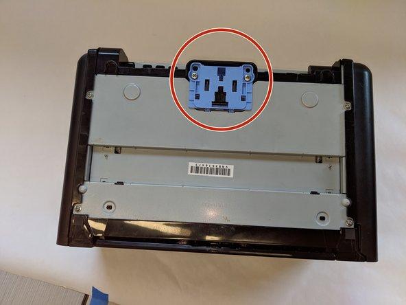 تعویض فنر سپریشن پد دستگاه پرینتر لیزری HP LaserJet P1102w