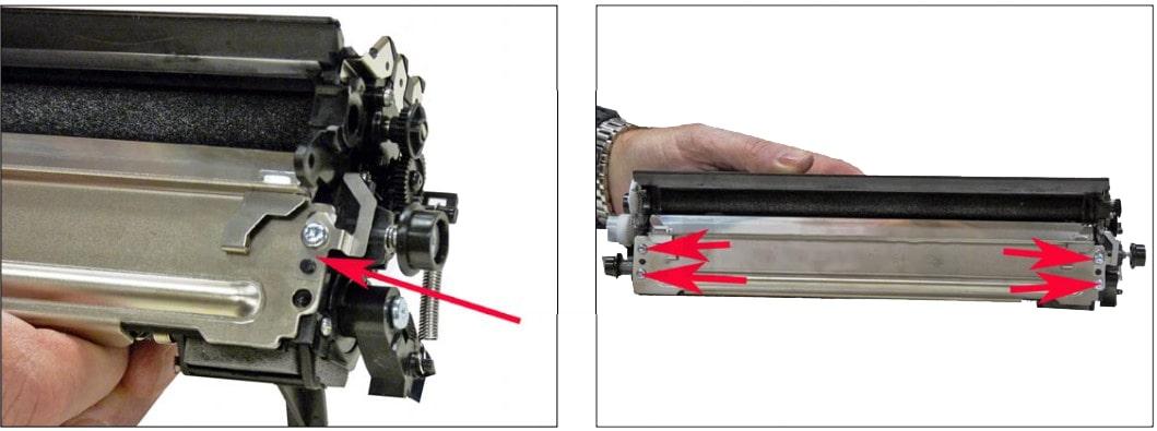 نحوه شارژ کارتریج لکسمارک سری MS و MX