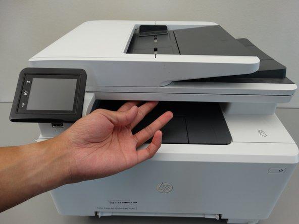 آموزش تعویض نمایشگر پرینتر لیزری HP Color LaserJet Pro MFP M277dw