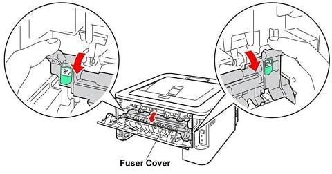 بررسی و رفع ایراد LED چشمک زن پرینترهای لیزریبرادر