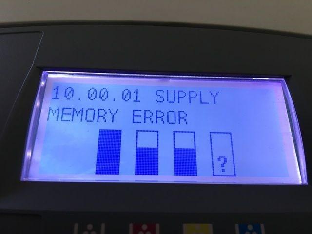 خطای Supply Memory Error در پرینترهای HP و نحوه برطرف کردن آن